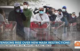 #FaceMask Rules Lead To Violent Confrontations
