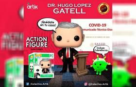 Lanzan funko de Hugo López Gatell