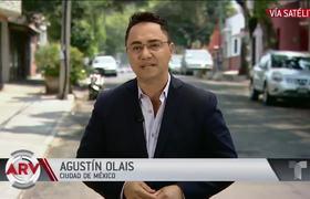 Mexicanos hacen inmensas filas en busca de alimentos