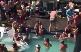 #VIRAL: Pool party at Lake of the #Ozarks shows crowd ignoring social distancing guidelines