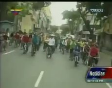 Nicolas Maduro Bicycle Falls Video