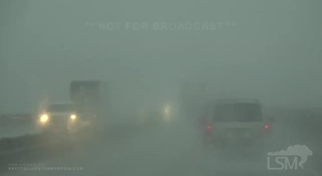 Lake Charles, LA Hurricane Laura Bands - Wind - Powerlines Down