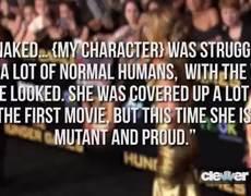 OMG Jennifer Lawrence Naked in XMen Days of Future Past