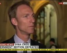 BREAKING NEWS Britain PM Cameron Defeated on Military Action in Syria