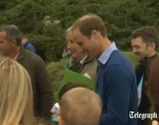 Duchess of Cambridge makes first public appearance