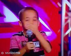 Momento FAIL de Belinda en Factor X