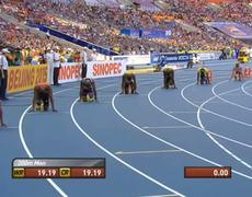Moscow 2013 200M Semi Final 2 Usain Bolt 2012
