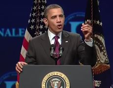Barack Obama Singing Made in the USA
