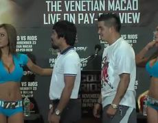 Manny Pacquiao confuses your opponent with aide