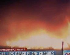Breaking News UPS Plane Crash Birmingham Alabama