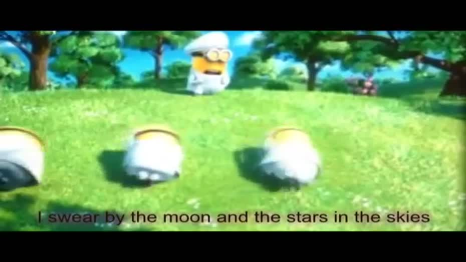 Minions I Swear Despicable Me 2 All 4 One Cover with subtitles