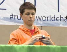 Rubiks Cube solved in 736 seconds