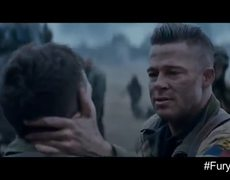 Fury Official Movie Clip I Cant Do It 2014 HD Brad Pitt War Movie