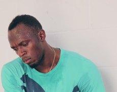 Usain Bolt learning Russian