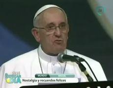 Pope leaves Brazil sad but full of happy memories