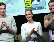 ComicCon 2013 Jennifer Lawrence and Nicholas Hoult Bring Romance