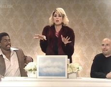 Saturday Night Live Sarah Silverman Roasting Dead Celebs In Heaven