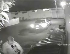 CCTV Video Seattle Police Officer Caught Urinating On Private Building
