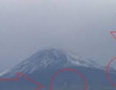 UFO Over Popocatepetl