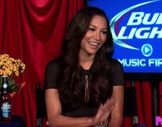 Naya Rivera Talks Bud Light Music Firsts Show New Music