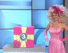 The Ellen Show Whats in the Box A New TV for Everyone