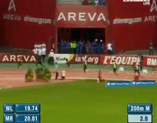 Usain Bolt Wins 200m Paris Meeting Areva Diamond League 2013