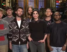 SNL Sarah Silverman and Maroon 5 Promo