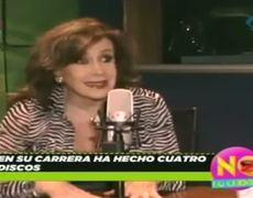 Laura Zapata began her singing career