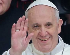 The first 100 days of the Pope Francis in the Vatican