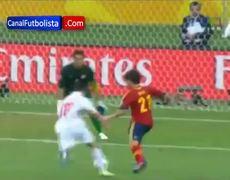 Spain vs Tahiti 100 David Silva Goal Confederations Cup 2013