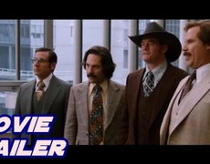 Anchorman 2 The Legend Continues Official Movie Trailer 1 2013 HD Will Ferrell Movie