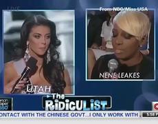 Miss Utah contestant has painful response