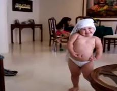 Cute baby shakira