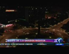 Sismo de 58 grados en escala richter sacude a la Ciudad de México