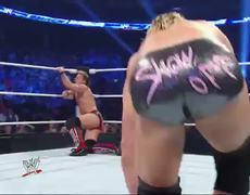 SmackDown Chris Jericho Alberto Del Rio vs Dolph Ziggler Big E Langston
