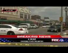 Shooting 4 Dead at Cherokee St Louis Missouri