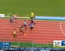 Golden Gala Rome Diamond League 2013 Justin Gatlin Beats Usain Bolt 100m 994