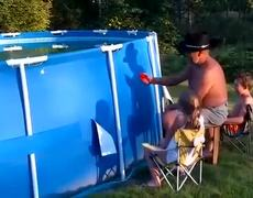 Swimming Pool Redneck Style