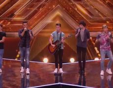 The X Factor UK 2014 Overload sing 9 to 5 Boot Camp Preview