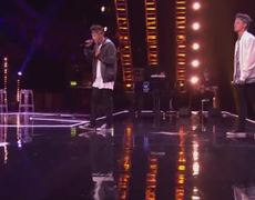 The X Factor UK 2014 The Brooks sing David Guettas Without You Boot Camp