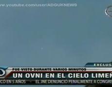 Jellyfish UFO Over Peru