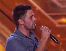 The X Factor UK 2014 Ben Haenow sings Eagles Hotel California Boot Camp