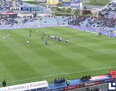 Getafe CF vs Valencia CF 1 0 Gol de Jeremy Mathieu 1952013