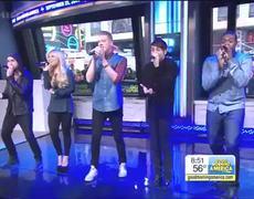 GMA Pentatonix Covers Ariana Grandes Problem