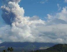 Volcano in Philippines Eruption