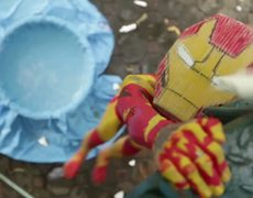 IRON MAN 3 Official Thai sweded Parody Trailer HD