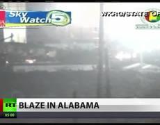 Breaking news Sixth Explosion At Alabama Barge