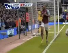 West Ham United vs Manchester United 2 2 All Goals 1842013
