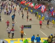 Raw Video Boston Marathon Explosion with Audio