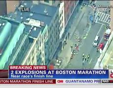2 explosion ata Boston Marathon